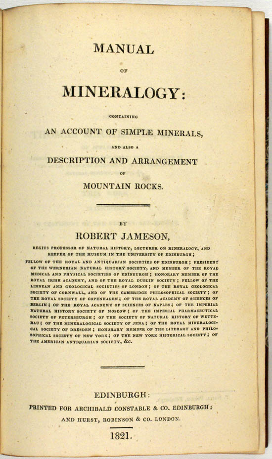Jameson, Robert (1821)