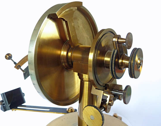 Wollaston type goniometer, unsigned
